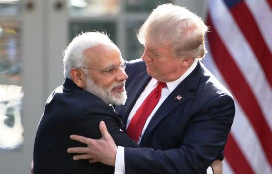 TRUMP US INDIA MODI