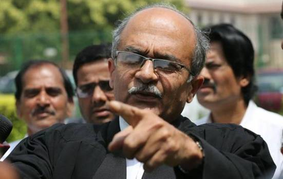 PRASHANT BHUSHAN LAW INSIDER IN