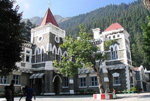 uttarakhand NAINITAL high court HC