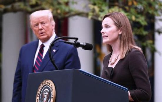 Amy Coney Barrett DONALD TRUMP LAW INSIDER IN