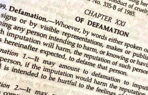 defamation laws