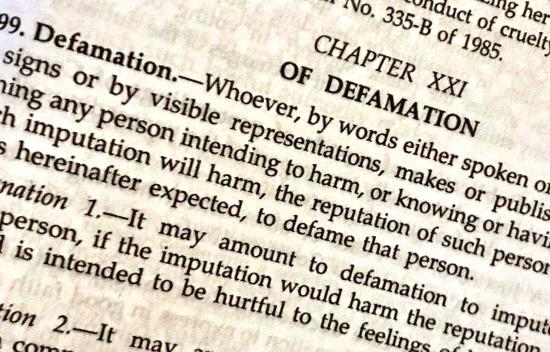 defamation laws