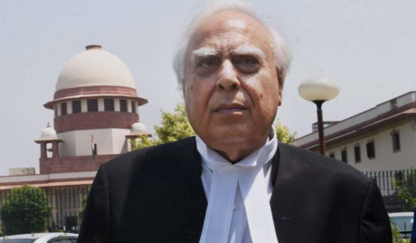 Kapil Sibal LAW INSIDER
