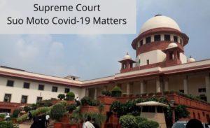 Suo moto Covid Law Insider IN