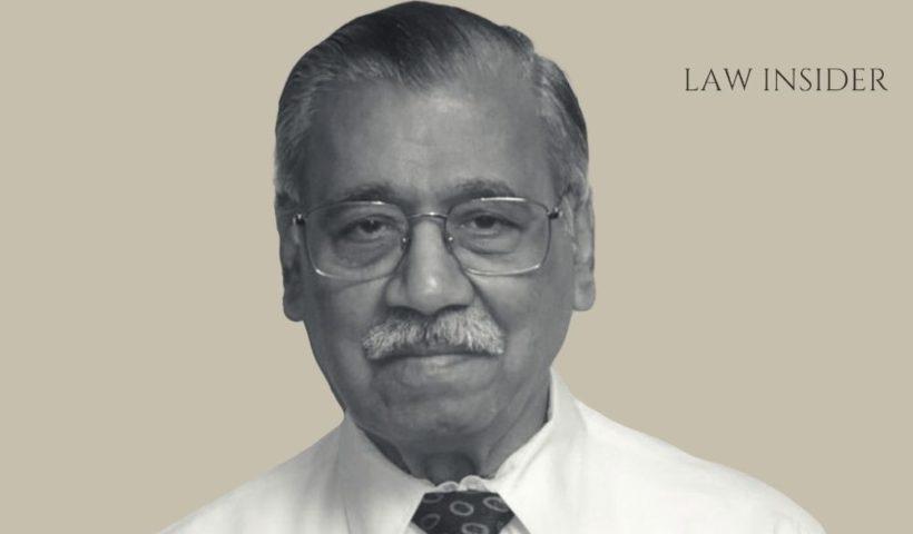 Justice AM Ahmadi LAW INSIDER