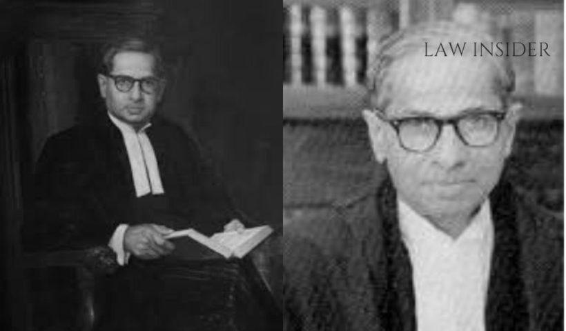 Justice P.B. Gajendragadkar LAW INSIDER