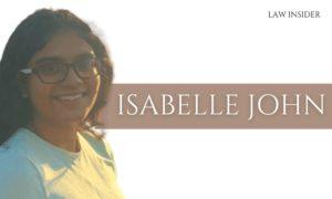 ISABELLE JOHN LAW INSIDER