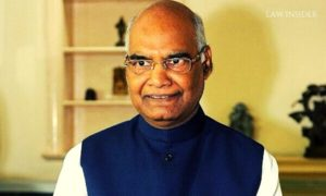 President of India, Ram Nath Kovind, smiling