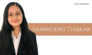 Samriddhi Thakar LAW INSIDER