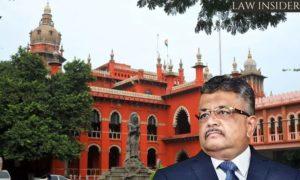Tushar Mehta Madras High Court Law Insider IN