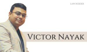 Victor Nayak Galgotias University in suit smiling LAW INSIDER