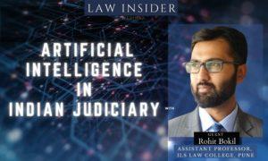 artificial intelligence in indian judiciary webinar poster law insider