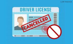 driver license cancelled - law insider