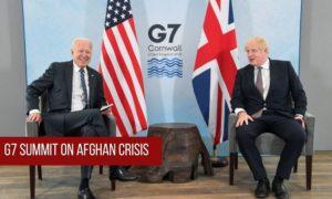 G7 Summit on afghan crisis law insider