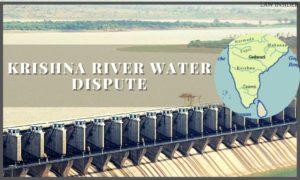 krishna river dispute - lawinsider