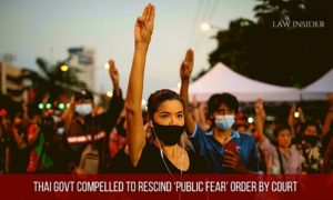 Thai govt compelled to rescind 'Public Fear' order by Court