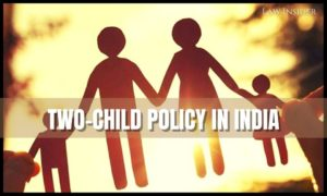 Two child policy - law insider